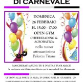 Promo Open Gym Carnevale w