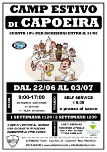 Capoeira estate 2020