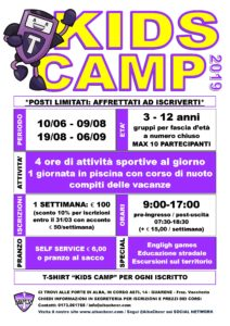 Kids Camp estate 2019