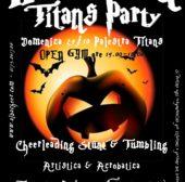 Halloween Titans party