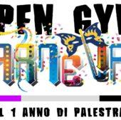 Promo Open Gym Carnevale 2018 titolo