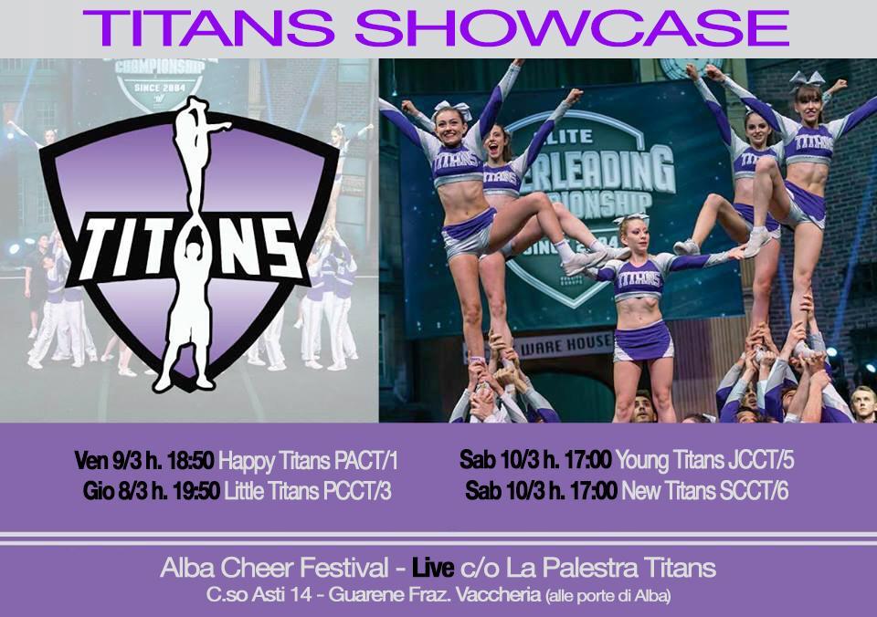 Titans showcase