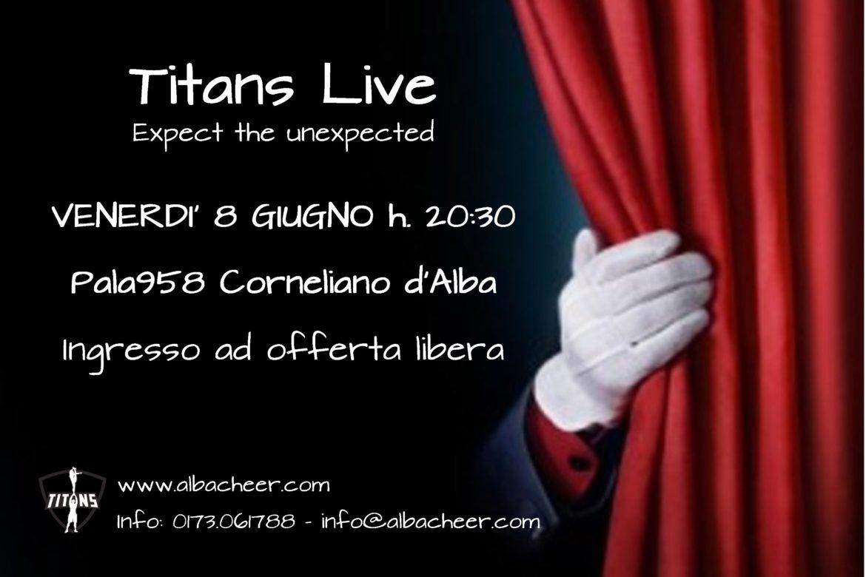 Titans Live - Locandina