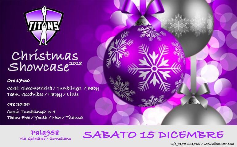 Locandina Christmas Showcase
