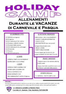 Programma Carnival & Easter Camp 2020