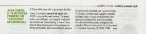 Gazzetta d'Alba - 16 Aprile 2019