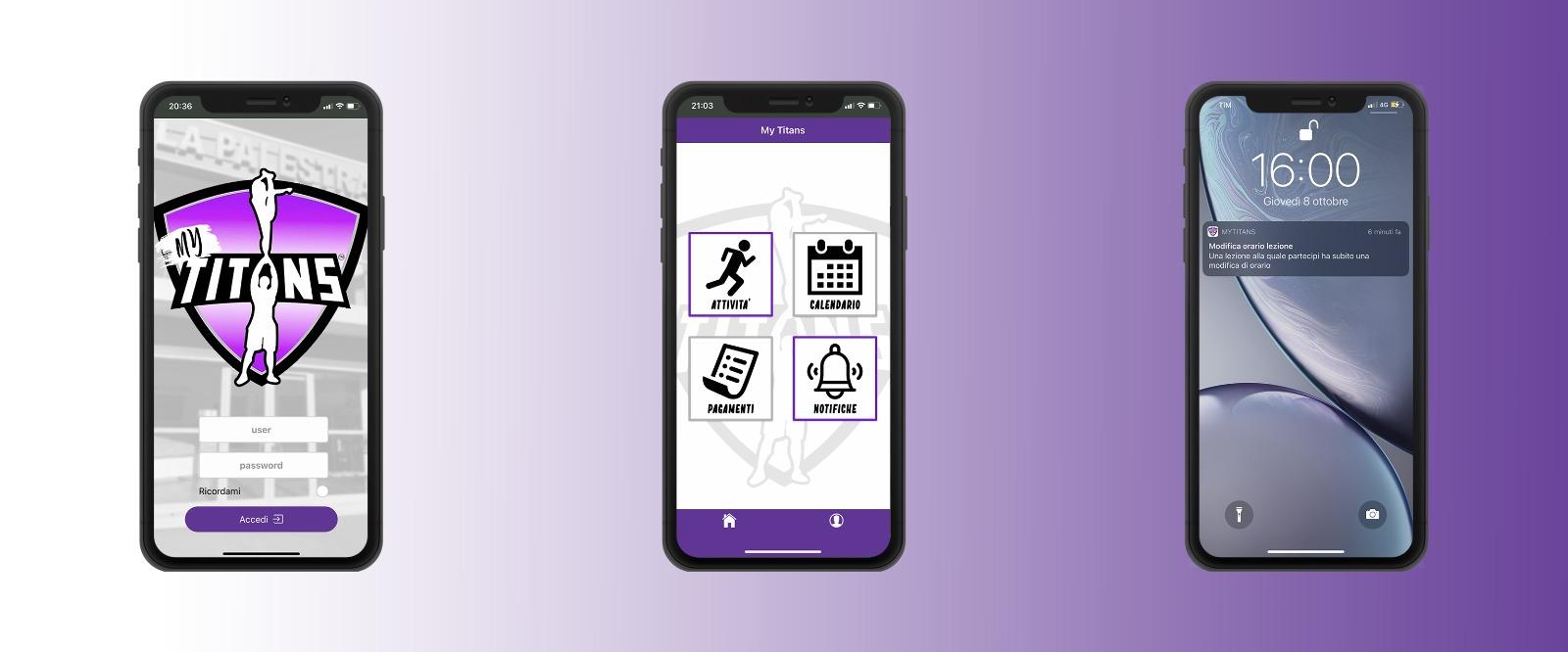 MyTitans app