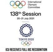 ICU full IOC recognition